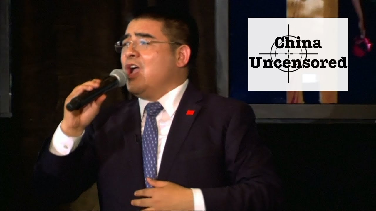 Chinese Millionaire Chen Guangbiao Karaokes We Are the World | China Uncensored thumbnail