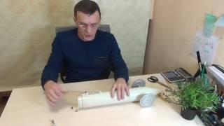 Пластиковая торпеда для установки сетей