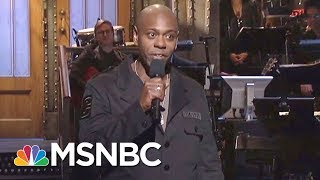 Dave Chappelle To Trump Supporters: He's Fighting For Me, Not You | The Beat With Ari Melber | MSNBC