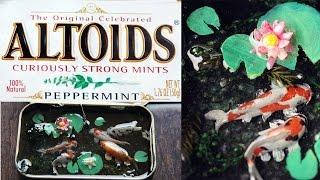 HOW TO: Polymer Clay Koi Pond (ALTOID Tin)