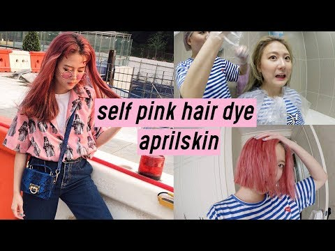 AprilSkin Turn-Up Color Treatment: Easy Self Pink Hair Dye | Q2HAN