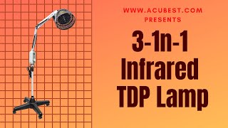 Introducing our 3-in-1 infrared TDP lamp