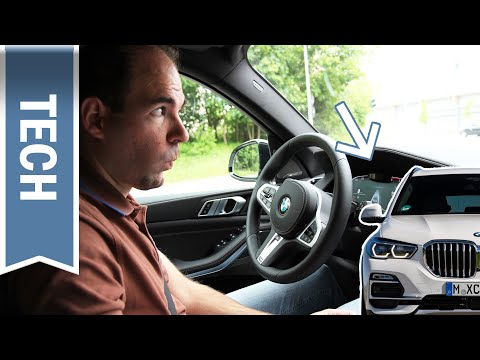 Perfektes Staufahren dank Fahrerbeobachtung im BMW X5: Driving Assistant Prof. & Driver Monitoring
