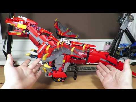 Poise Mould King 13031 - Balancing Mechanical Dragon Building blocks set