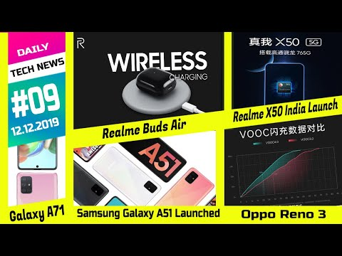 Samsung Galaxy A51 Launched , Realme X50 India Launch , Oppo Reno 3 Series, Galaxy A71, Galaxy M30