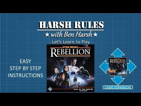 Harsh Rules - Star Wars Rebellion - Rise of the Empire Expansion