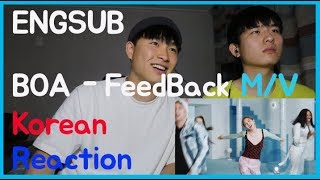 BOA(보아)   FeedBack (Feat NukSal) MV Reaction!!