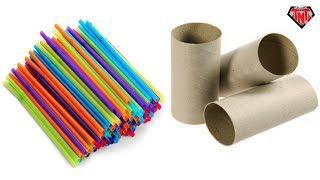 Drinking Straw Craft Ideas म फ त ऑनल इन व ड य