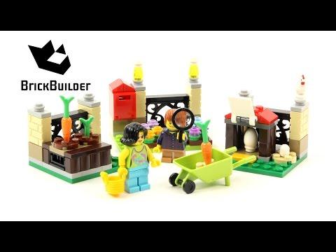 Vidéo LEGO Saisonnier 40237 : La chasse aux œufs de Pâques LEGO