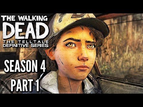 The Walking Dead: Definitive Edition SEASON 4 GAMEPLAY walkthrough (REMASTERED TWD)