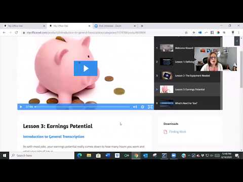 Transcription Training Courses / Tutorials - an overview - My Office ...