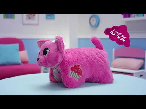 Youtube Video for Unicorn Pillow Pet - Candy Floss Scented
