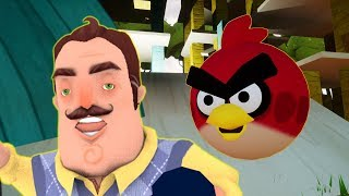 ANGRY BIRDS!! - Hello Neighbor Mod