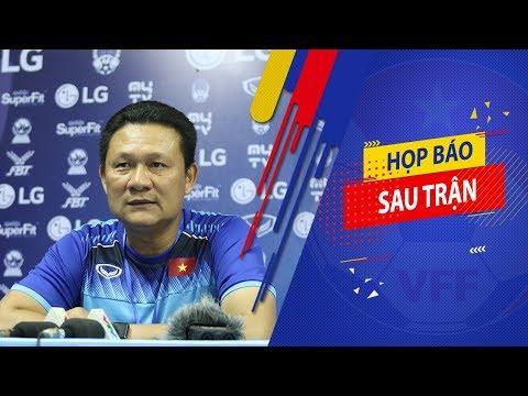 HLV Nguyễn Quốc Tuấn: Tôi hài lòng với kết quả hòa cùng ngôi đầu bảng