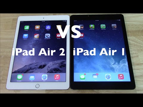 iPad Air 2 VS iPad Air 1 vale la pena comprar la nueva generación?