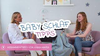 Baby Schlaf | Was braucht mein Baby Nachts? | Hebammentipps von Anna-Maria | babyartikel.de
