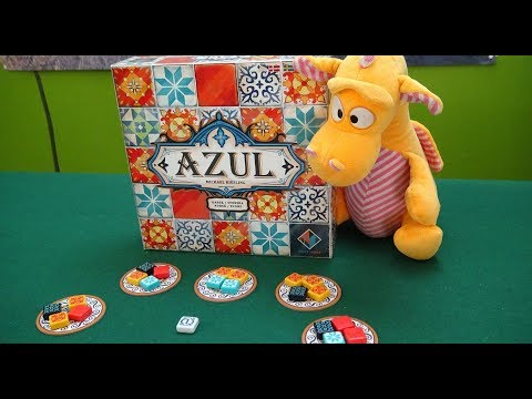 Azul - Gameplay Runthrough