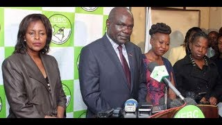 US, European Union's 18-point proposal to IEBC Chairman Wafula Chebukati