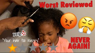 I WENT TO THE WORST REVIEWED HAIR STYLIST IN MY CITY  (MY MOM AND THE STYLIST GOT INTO A HUGE FIGHT)