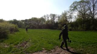 preview picture of video 'Paintball Kulerzów Real Games'