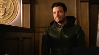 Arrow 6×21 Tommy Merlin is The Green Arrow