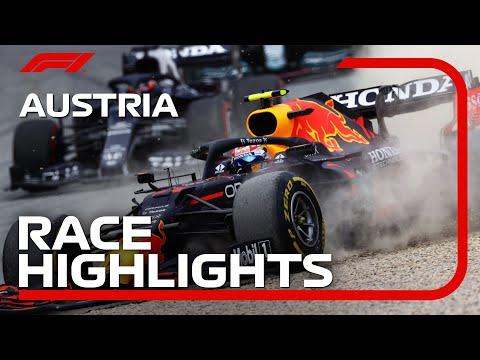 F1第9戦オーストリアGPの決勝レースのハイライト動画