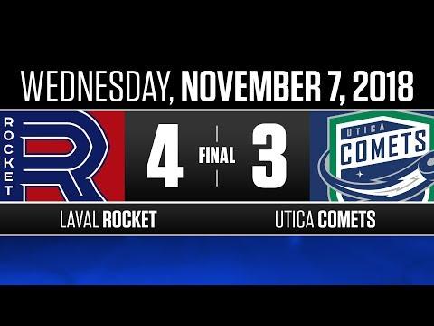 Rocket vs. Comets | Nov. 7, 2018