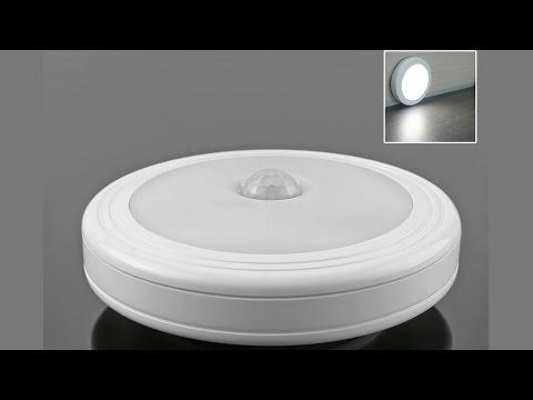 светильник с датчиком движения и фотосенсором