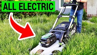 """Why an Electric Lawn Mower is Better Than a Gas One 
