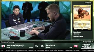 Pro Tour Battle for Zendikar Semifinals (Standard): Kazuyuki Takimura vs. Paul Dean