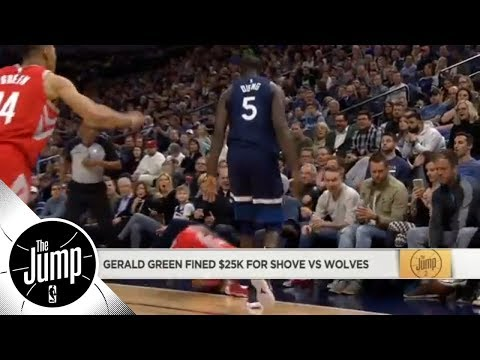 Gerald Green fined $25K for shove against the Timberwolves | The Jump | ESPN