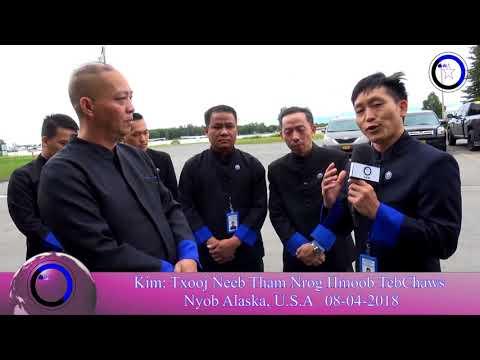 Hmong State: kim txooj neeb tham nrog Hmong Tebchaws  tom qab rooj koom txheej nyob alaska 8/4/2018
