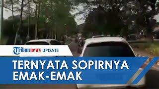 VIRAL Video Brio Putih Halangi Laju Ambulans di Tangerang, Ternyata Sopirnya Emak-emak