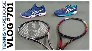 From the court, check out these Classic Racquets & Sweet Shoes -- VLOG 701 ☀️