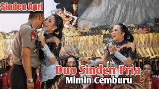 Full Dagelan Duo Sinden Pria , Apri Mimin Bareng Ki Seno Nugroho, Lucu puolll....