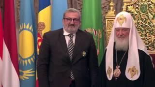 """San Nicola in Russia, dal Patriarca Kirill onorificenza a Emiliano. Il governatore: """"Impegno profuso trova riconoscimento"""""""