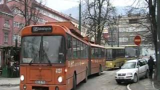 preview picture of video 'Obus in Sarajevo.'