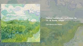 Clarinet Concerto no. 1 in F minor, Op. 73