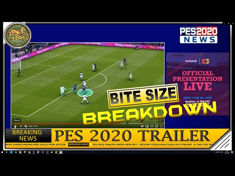 Download Pes 2020 Gameplay Master League React Trailer E3 Video 3GP