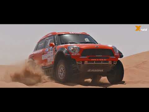 X-raid Team at the Abu Dhabi Desert Challenge 2018