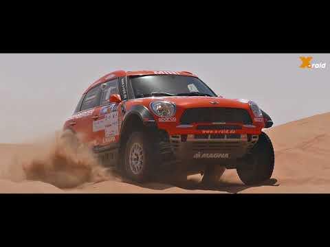 X-raid Team at the Abu Dhabi Desert Challenge 2018