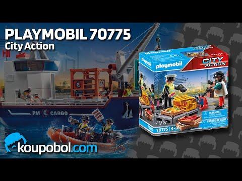 Vidéo PLAYMOBIL City Action 70775 : Ouvrier et douanière