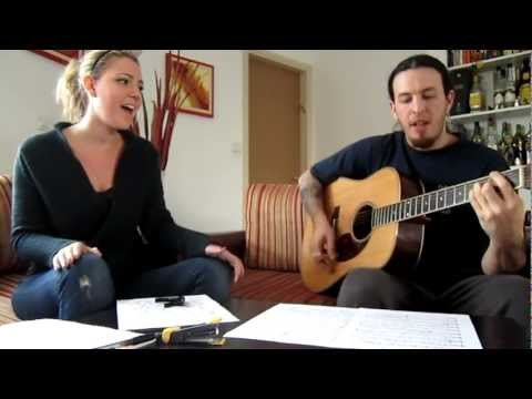 Grace Hannah- My Heart Belongs to you ORIGINAL (Acoustic messing around rehearsal)