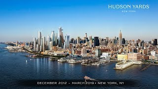 EarthCam Premieres Epic Construction Time-Lapse Movie of Hudson Yards