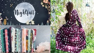 AGF Fabric Collection - Nightfall by Maureen Cracknell