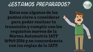 URS México/transición IATF 16949:2016