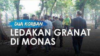 Ledakan Diduga Granat Asap di Monas Sebabkan 2 Anggota TNI Terluka, Korban Sudah Dibawa ke RSPAD
