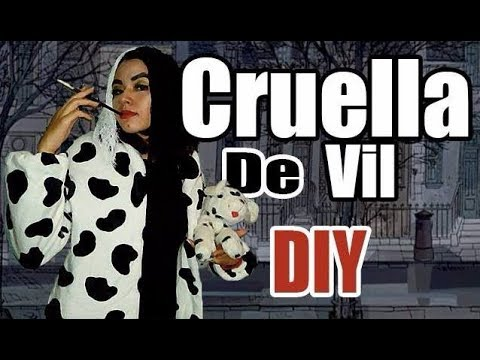 Cruella de Vill costume DIY | andy time