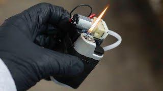 Мини газовая горелка - резак / Как сделать своими руками ?   Kholo.pk