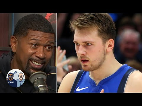 Jalen Rose reacts to Luka Doncic's 42 points: 'It's easy work!'   Jalen & Jacoby